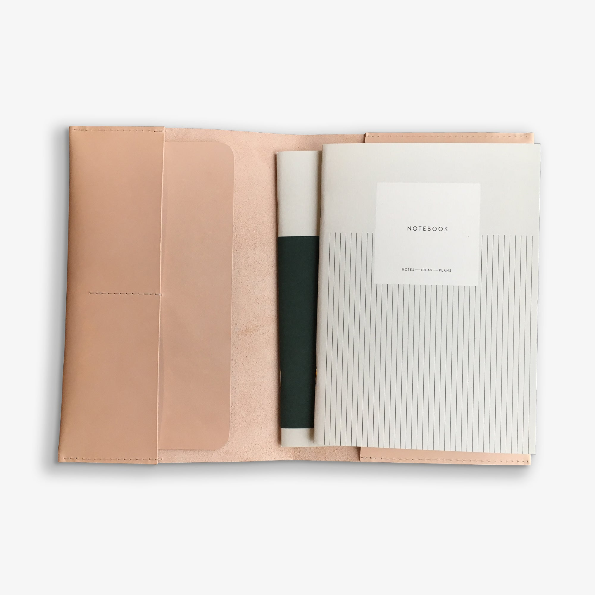 LEATHER CASE + PLANNER SET, A5
