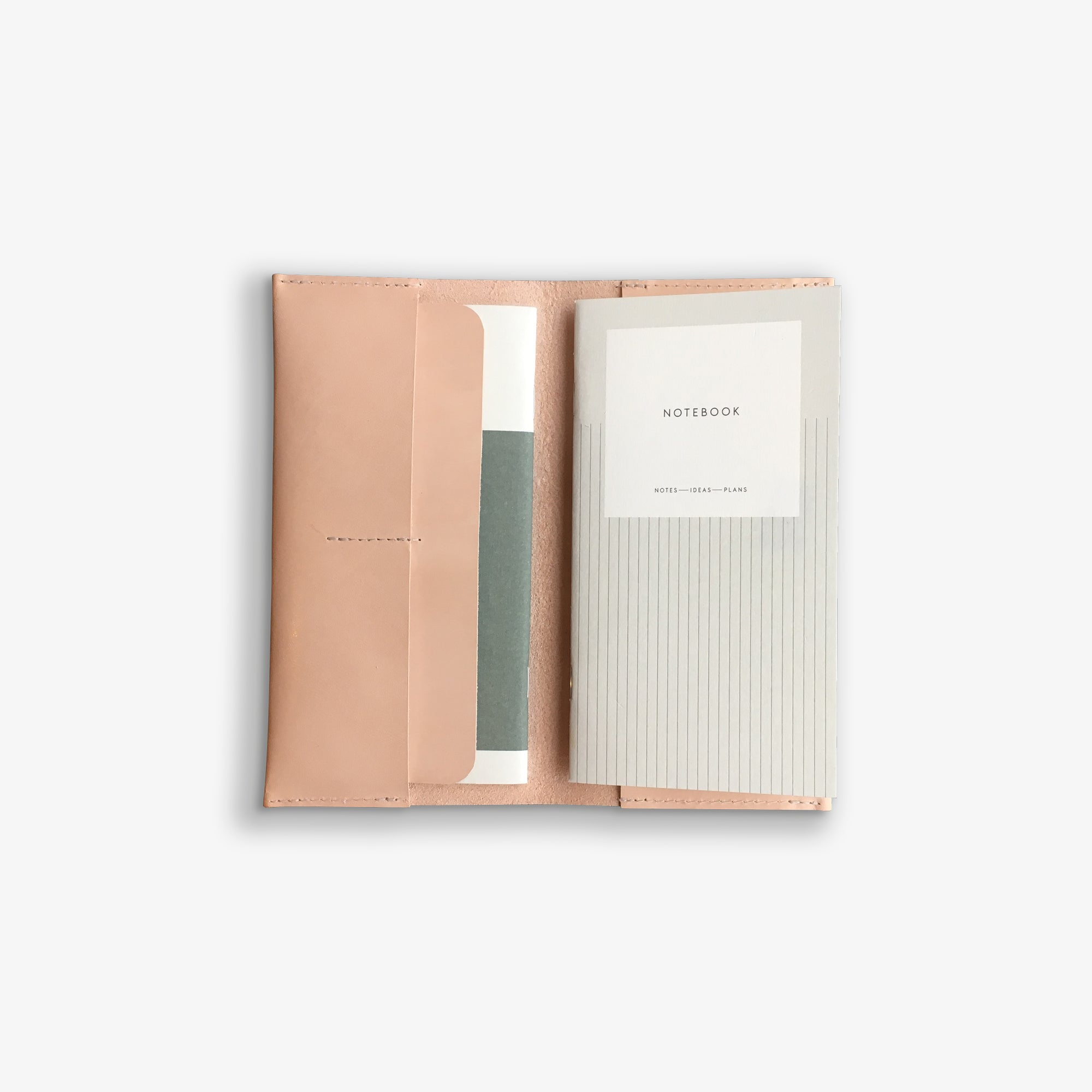 LEATHER CASE + PLANNER SET, SMALL