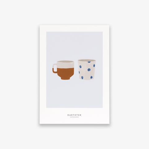 CARD A5 / TWO CUPS