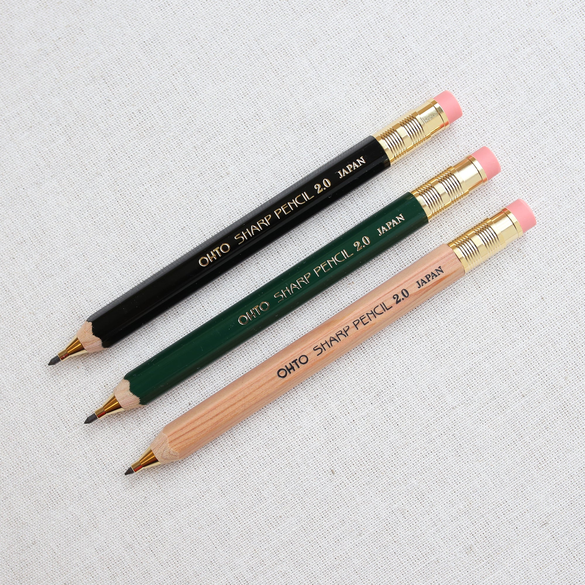 MECHANICAL PENCIL 2.0mm // BLACK