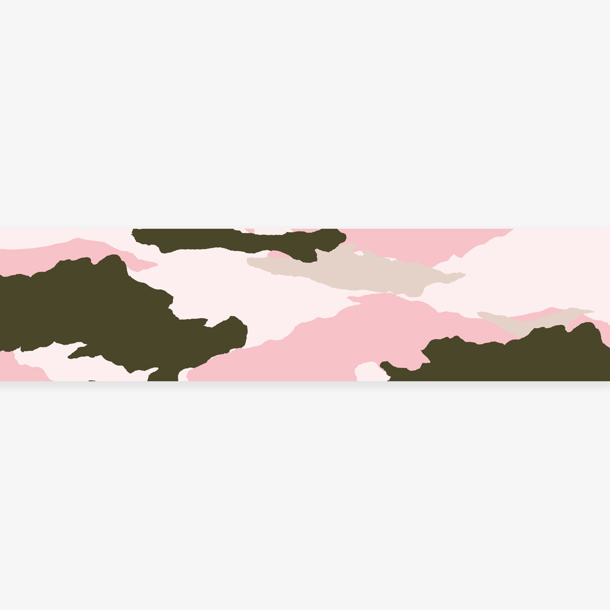 MASTÉ MASKING TAPE // CAMOUFLAGE PINK