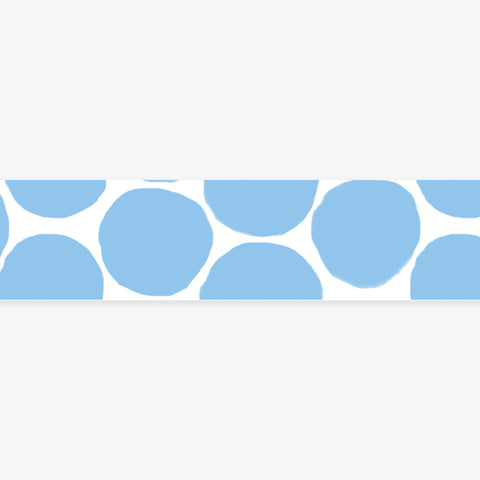 MASTÉ MASKING TAPE // ICE BLUE COIN DOTS
