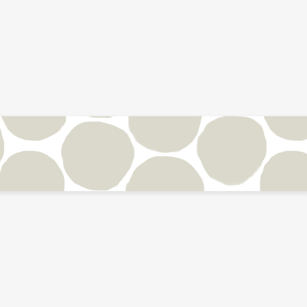 MASTÉ MASKING TAPE // WARM GREY COIN DOTS