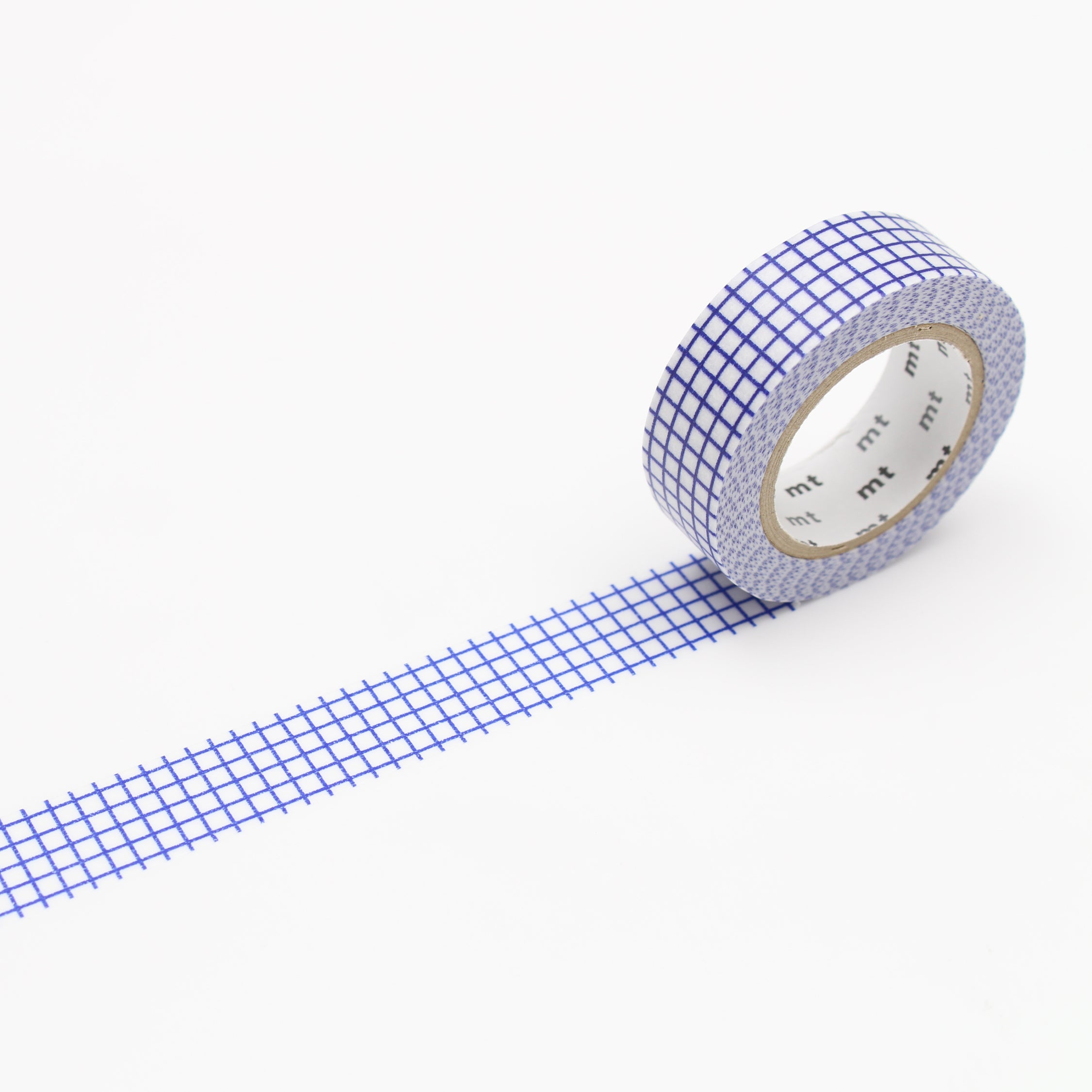 MASKING TAPE PATTERN CHECK BLUEBERRY