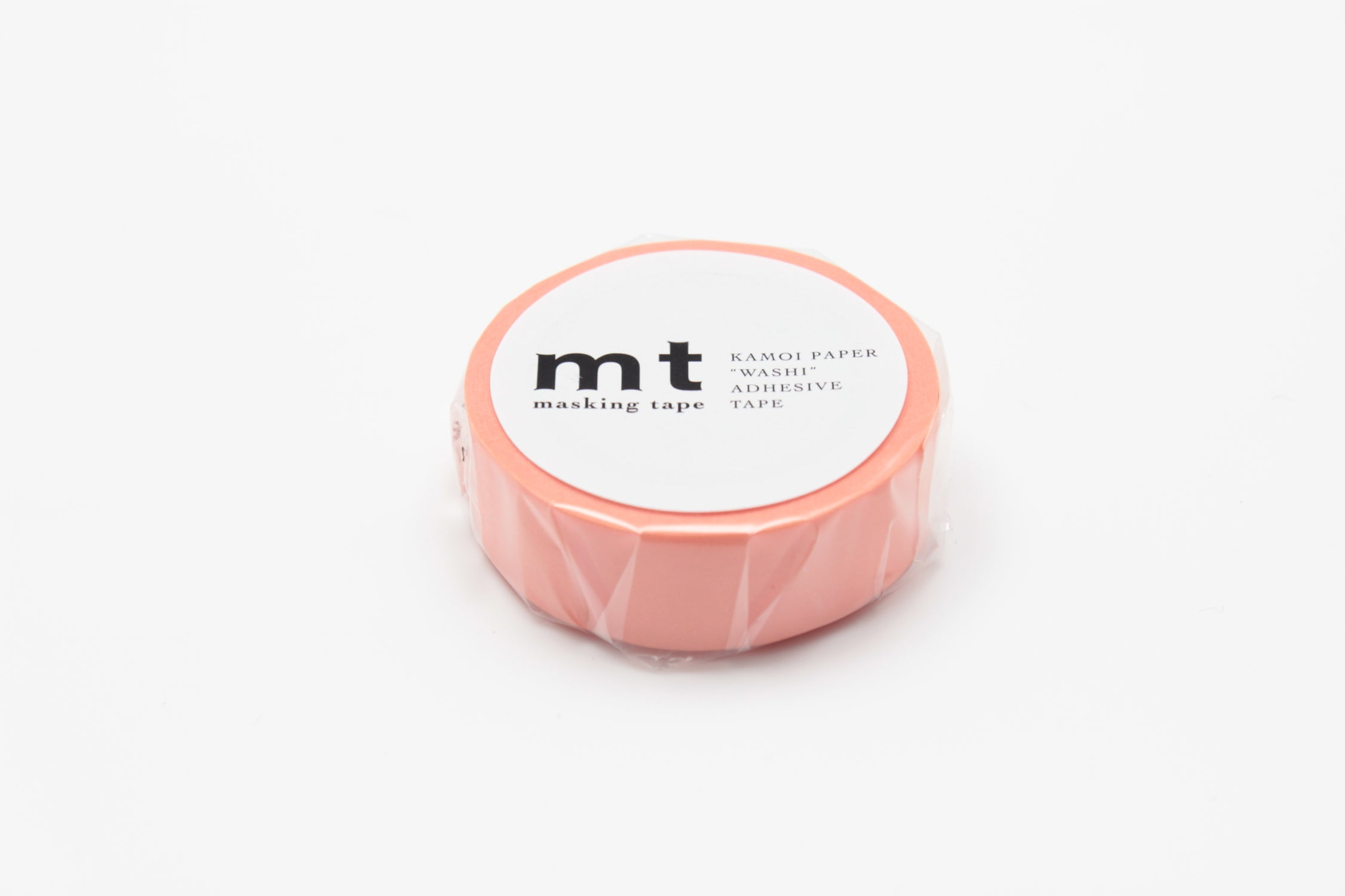 MASKING TAPE PLAIN SALMON PINK