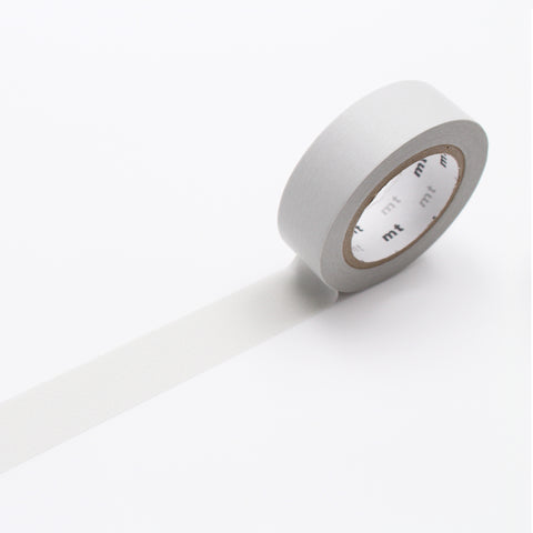 MT MASKING TAPE // PLAIN PASTEL GRAY
