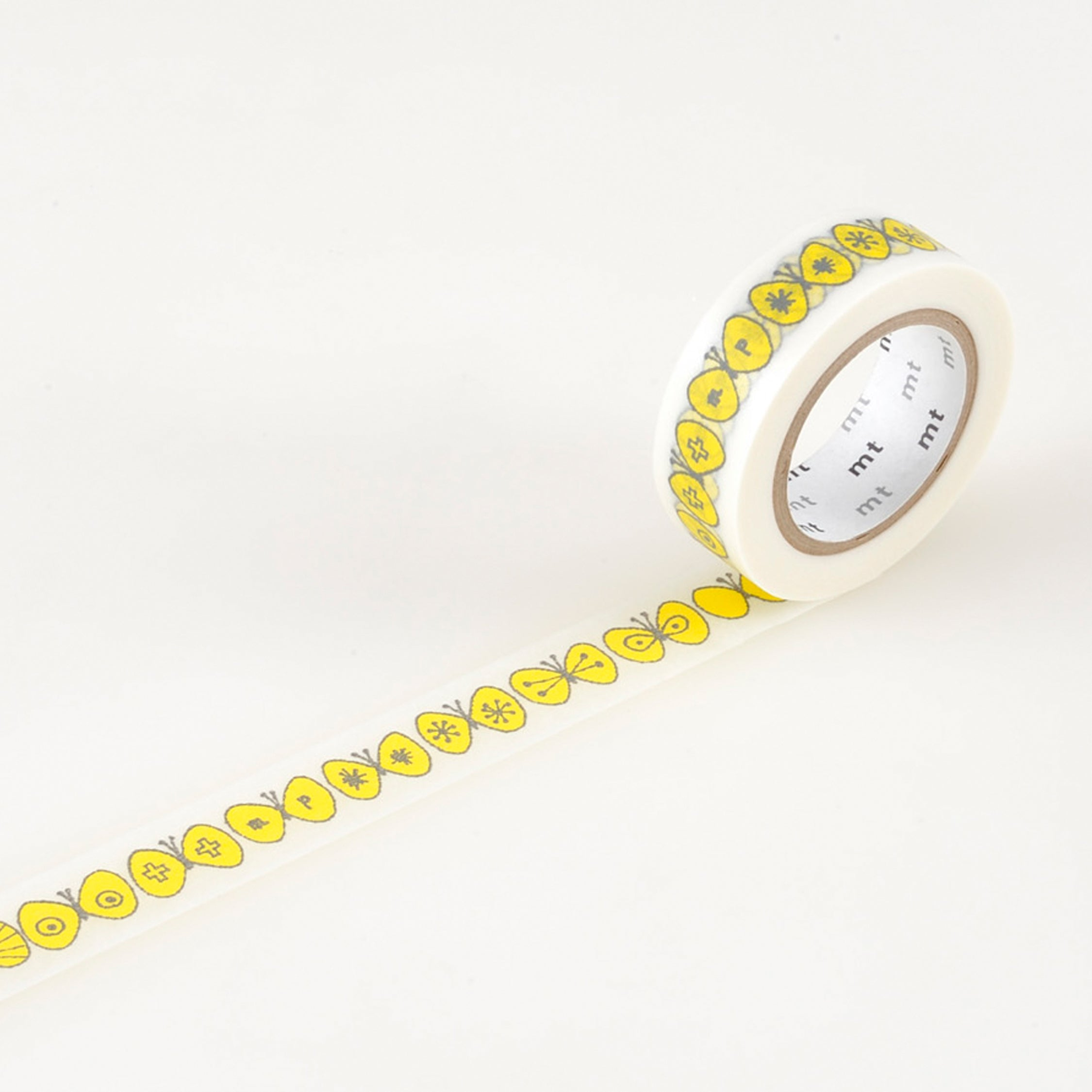 MASKING TAPE PATTERN CHOUCHO YELLOW