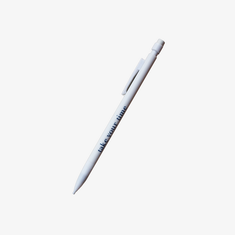 MECHANICAL PENCIL 0.5 mm // WHITE