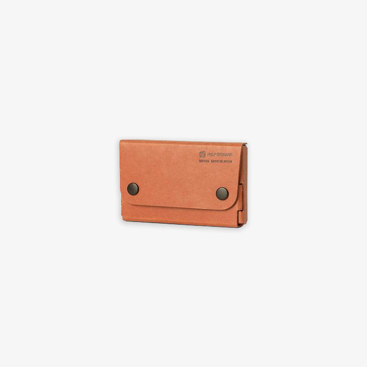 PULP CARD CASE PASCO // ORANGE-TAN