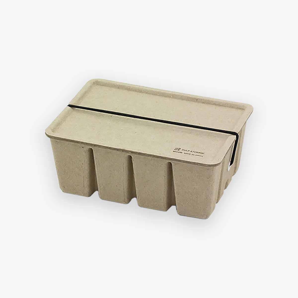 PULP CARD BOX PASCO // BEIGE