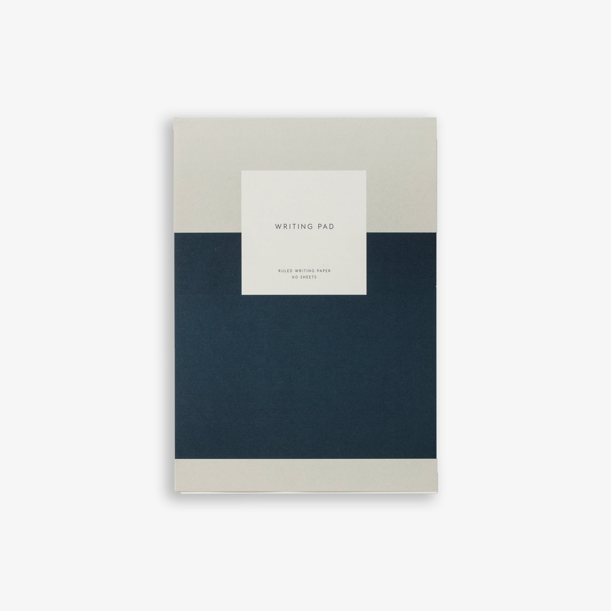 NOTEPAD WITH COVER / WRITING PAD - NAVY