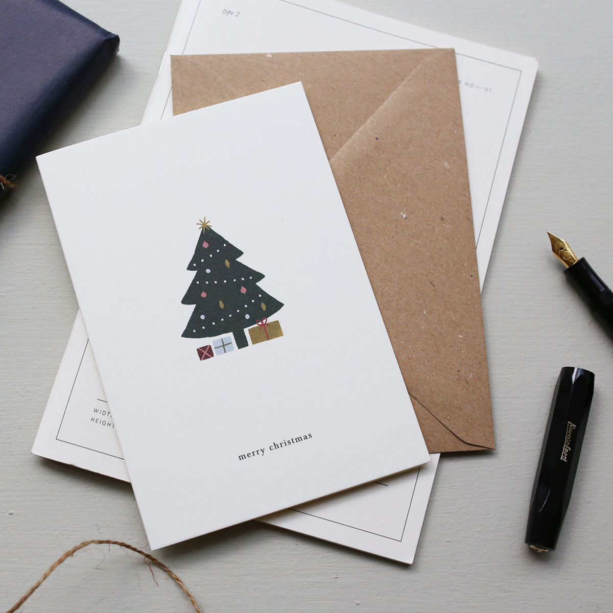 GREETING CARD / CHRISTMAS TREE