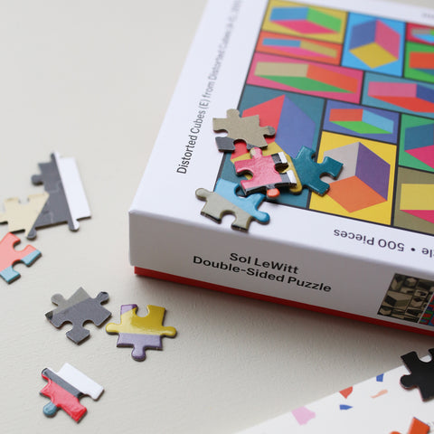 PUZZLE 'SOL LEWITT' 2-SIDED // 500 PCS