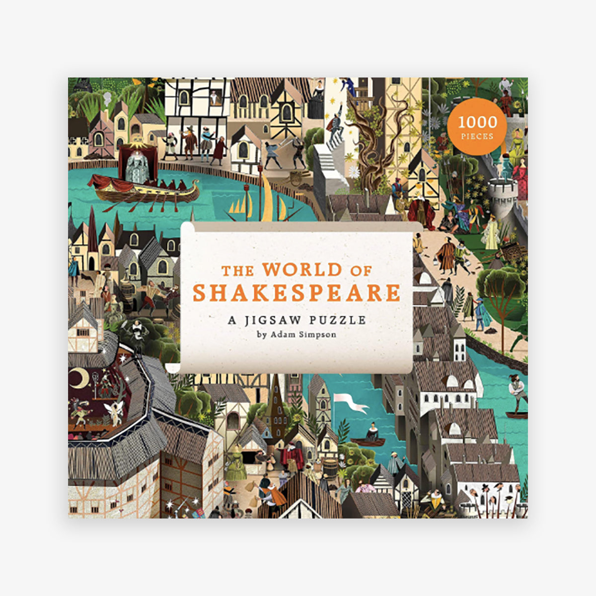 PUZZLE 'WORLD OF SHAKESPEARE' // 1000 PCS