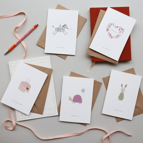 GREETING CARD // BABY RATTLE