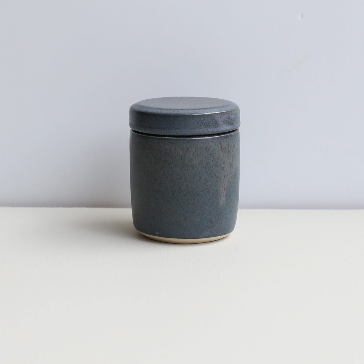 ODA SMALL LIDDED JAR // BLUE