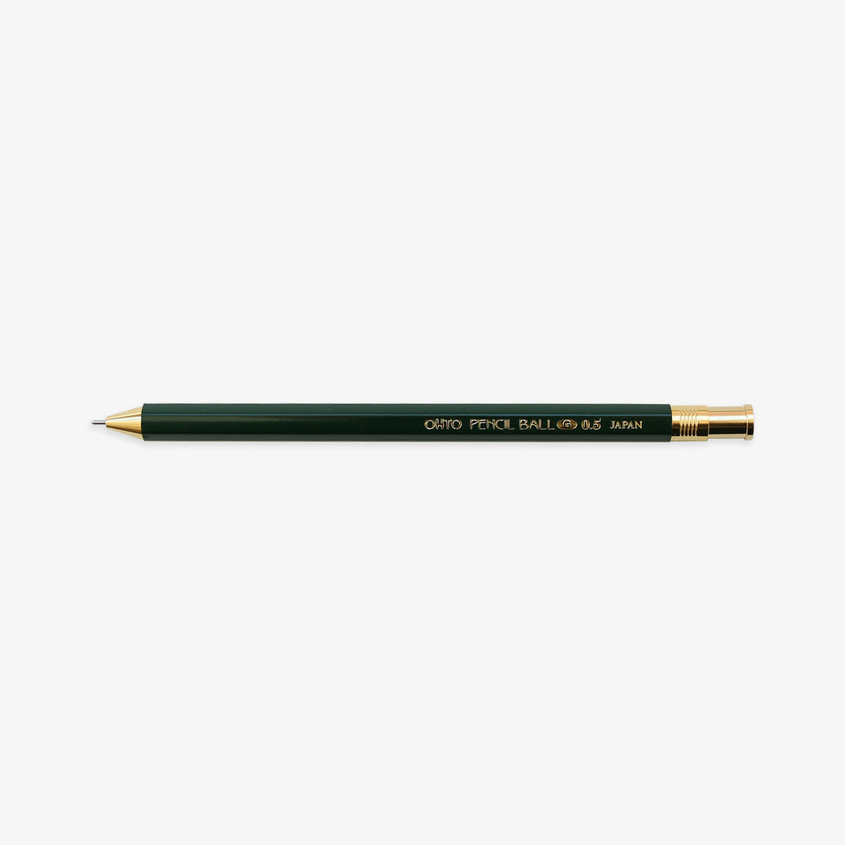 PENCIL BALLPOINT PEN 0.5mm // GREEN