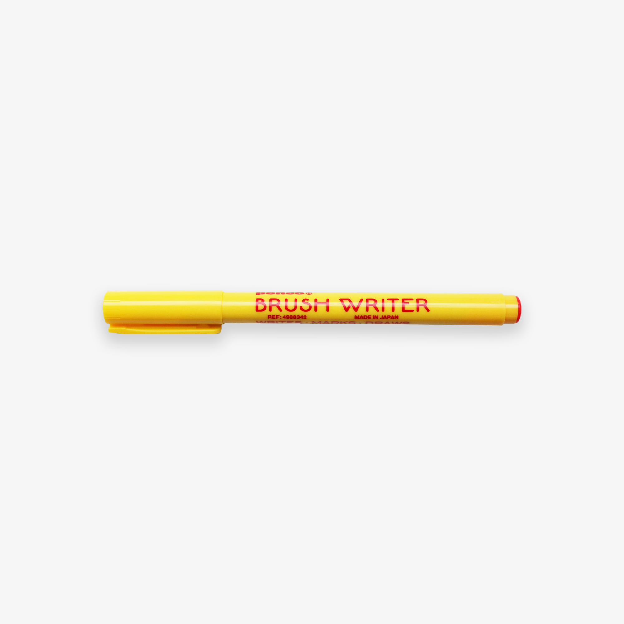 BRUSH WRITER // RED