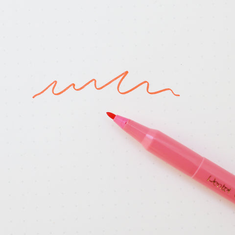 COLOR PEN // CORAL PINK