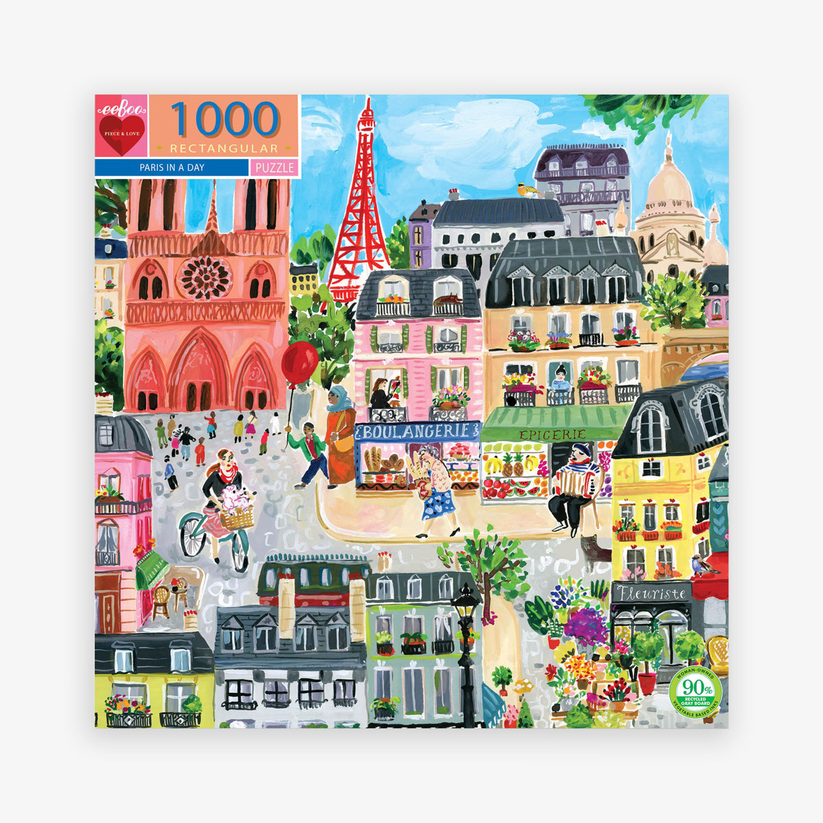 PUZZLE 'PARIS IN A DAY' // 1000 PCS