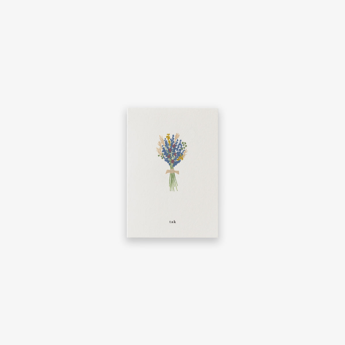 SMALL GREETING CARD // BOUQUET