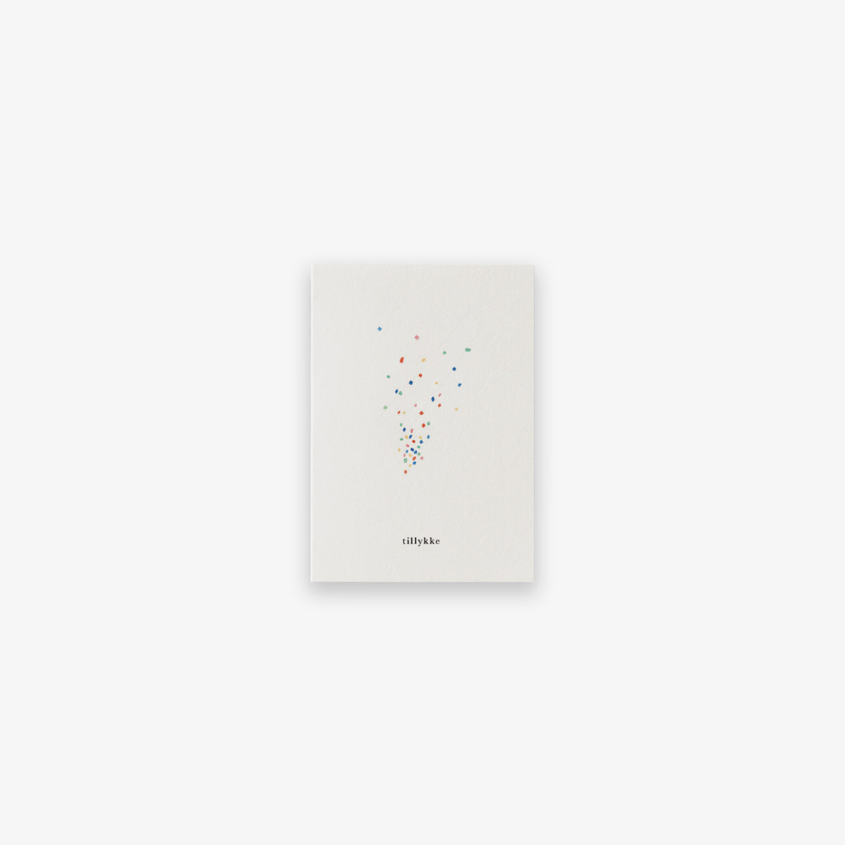 SMALL GREETING CARD // CONFETTI