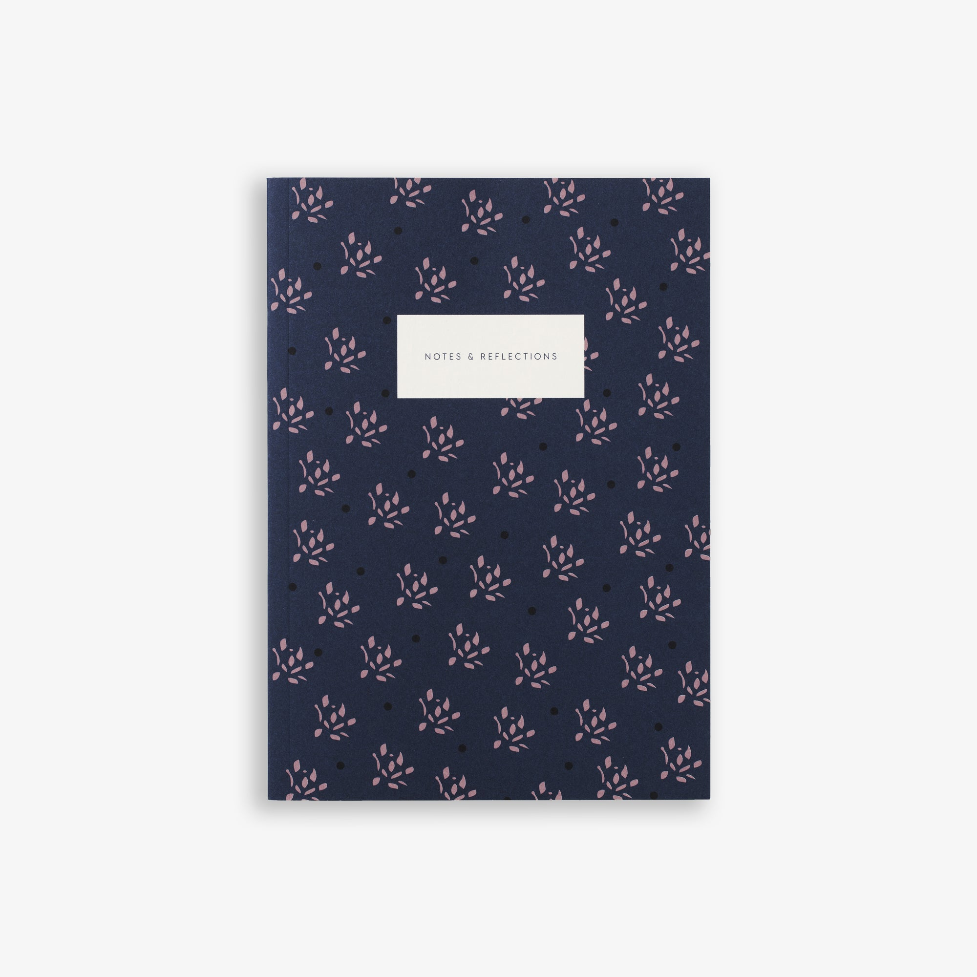 SMALL NOTEBOOK FLORAL NAVY