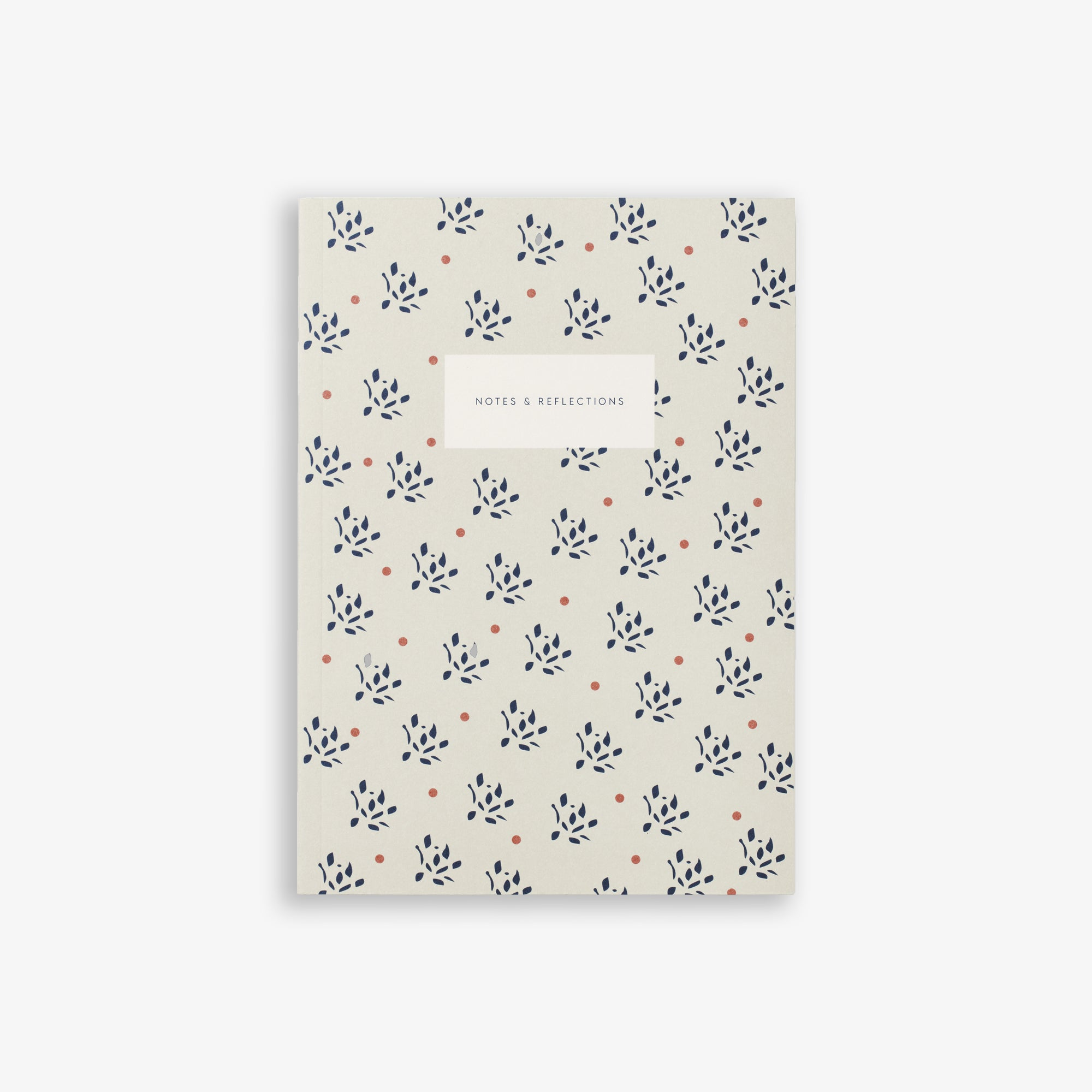 SMALL NOTEBOOK FLORAL SAND