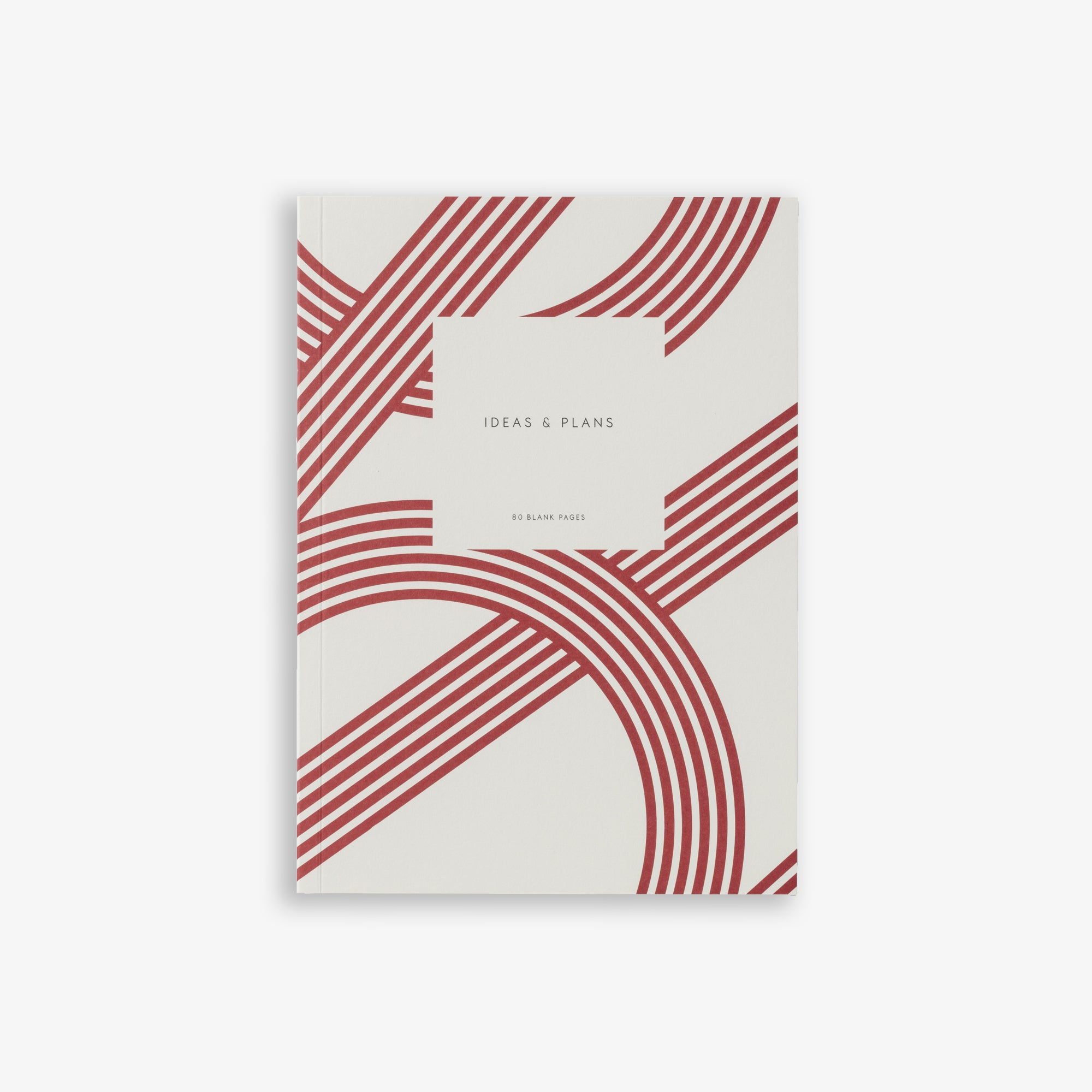 SMALL NOTEBOOK LINES RED
