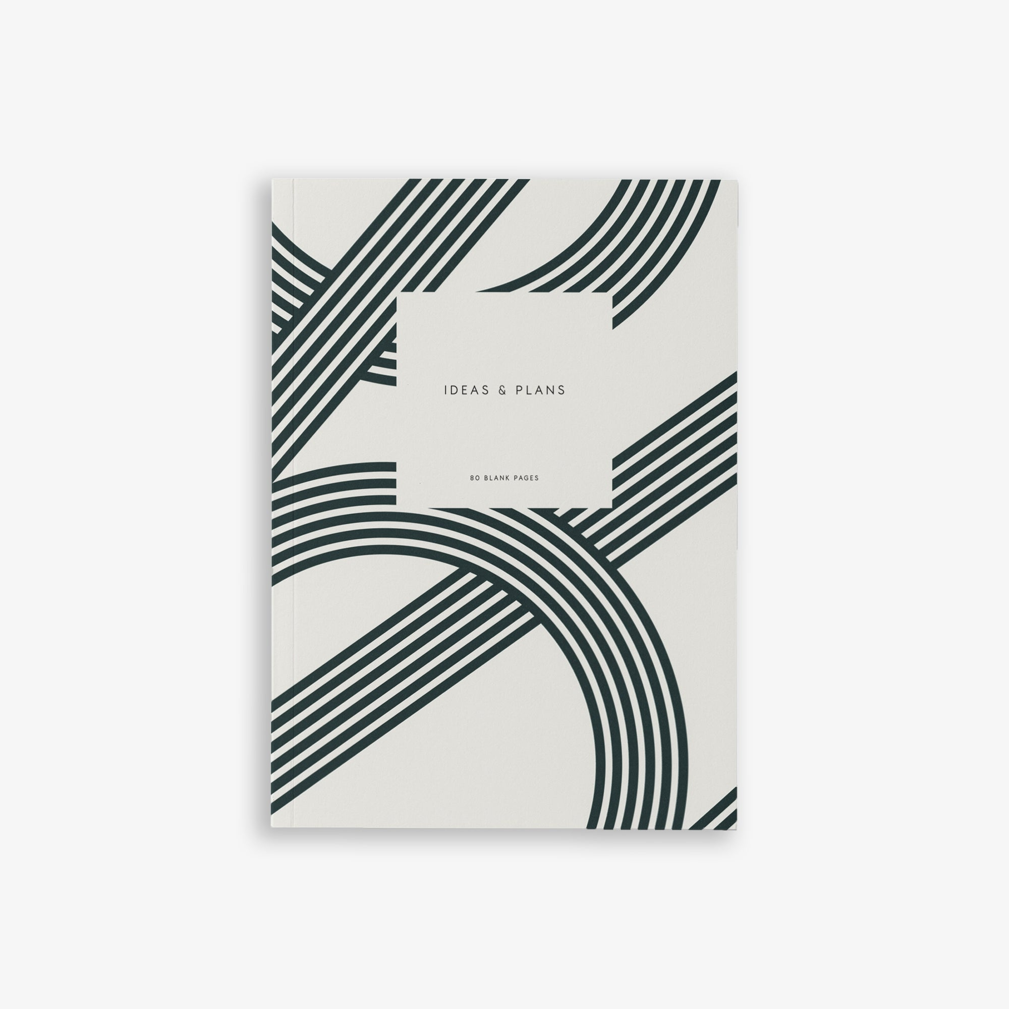 SMALL NOTEBOOK LINES DARK GREEN