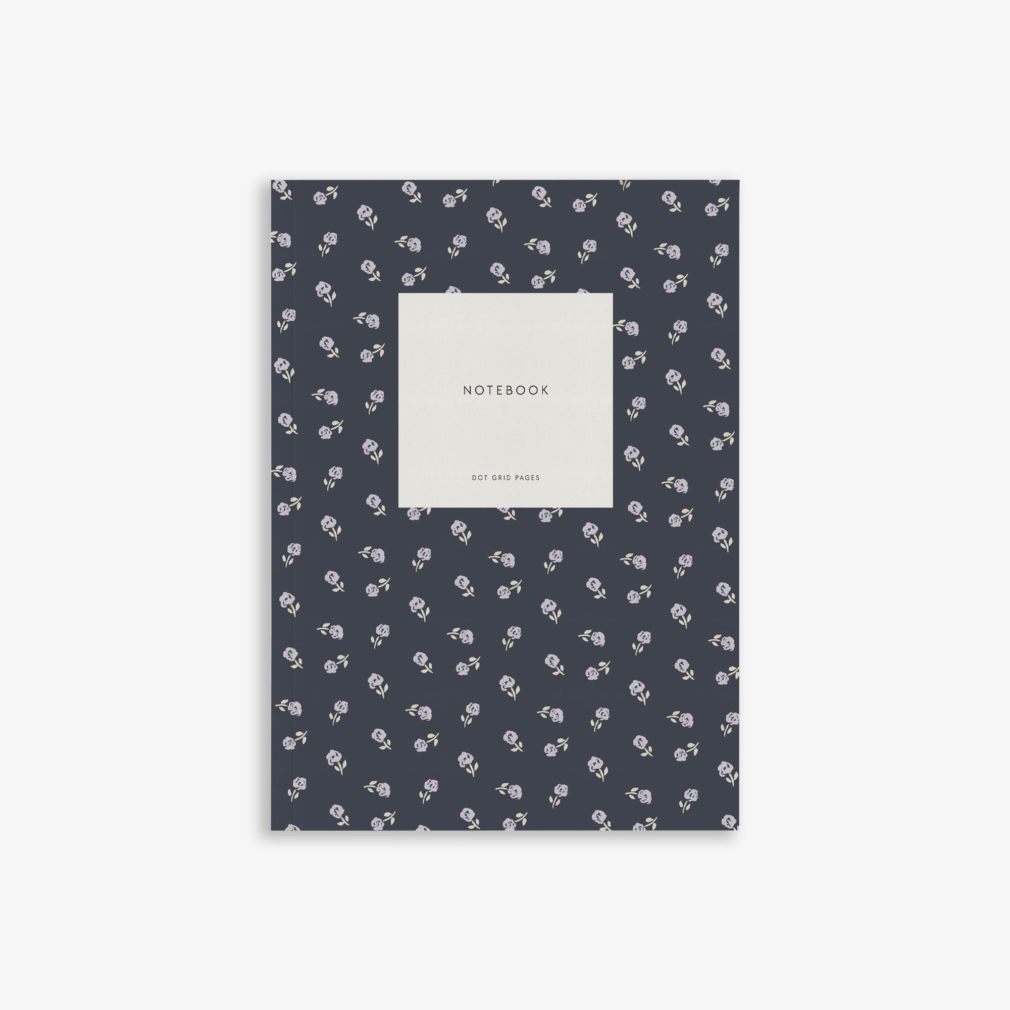 SMALL NOTEBOOK // SMALL FLOWER NAVY