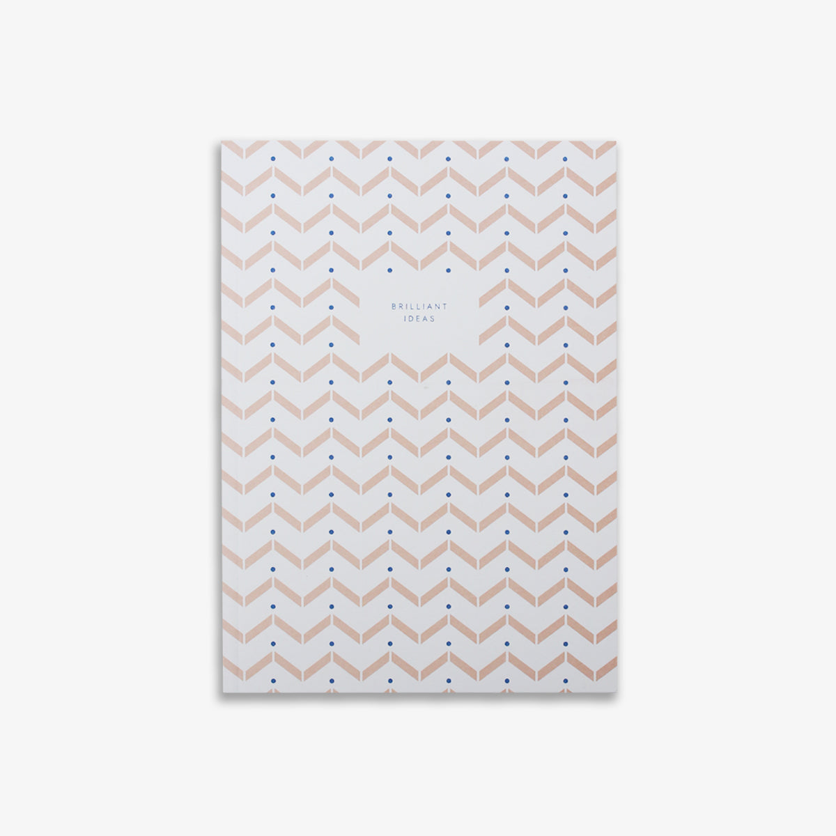 SMALL NOTEBOOK ZIGZAG // ROSE