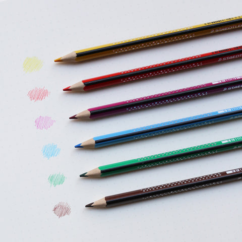NORIS COLOURED PENCILS // SET OF 6