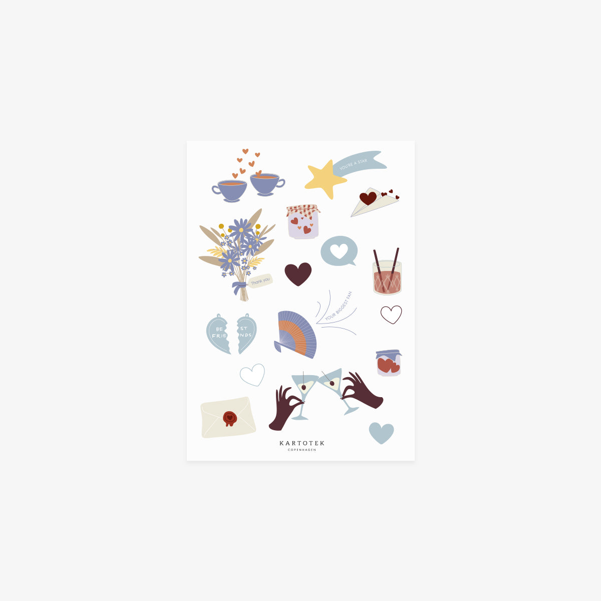 STICKERS // LOVE & FRIENDSHIP