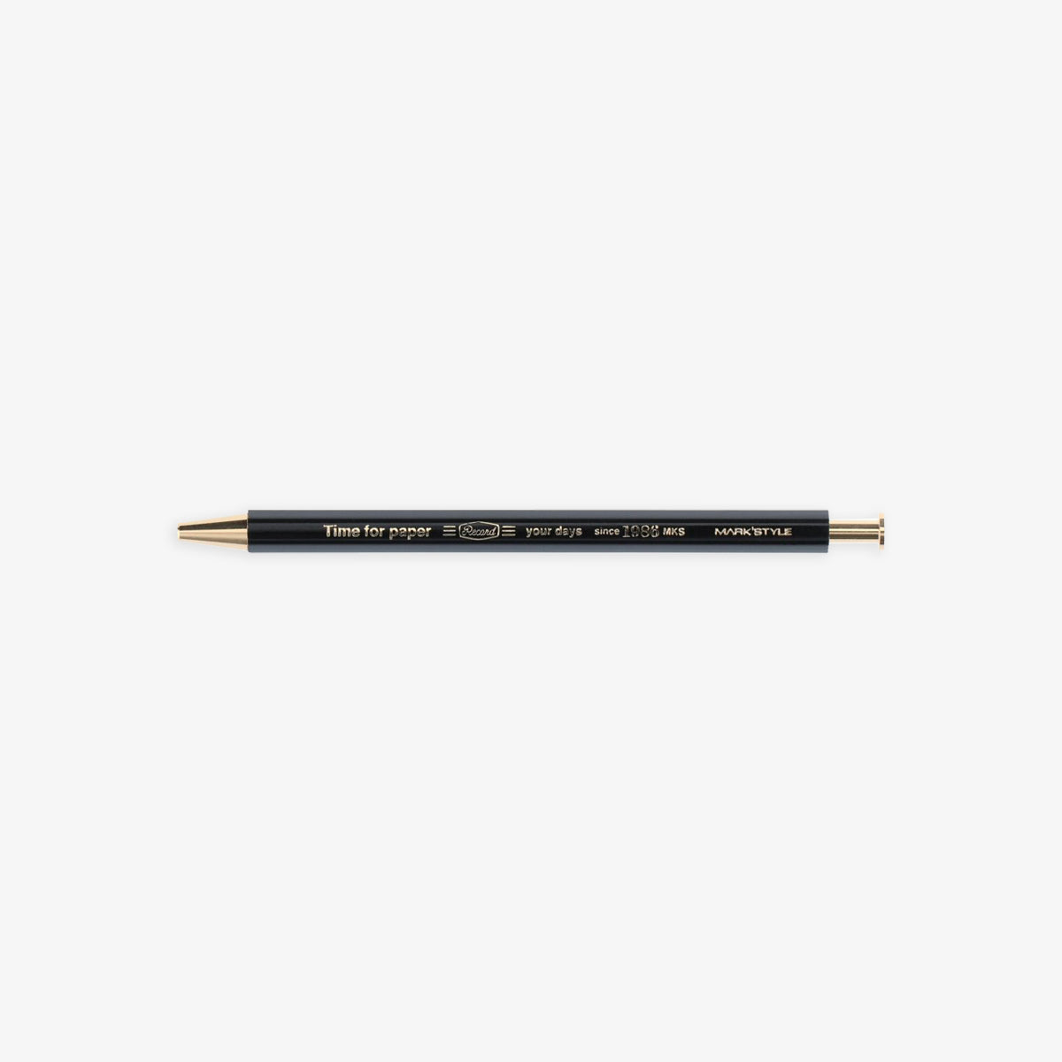 TIME FOR PAPER PENCIL BALL GEL PEN 0.5mm // BLACK