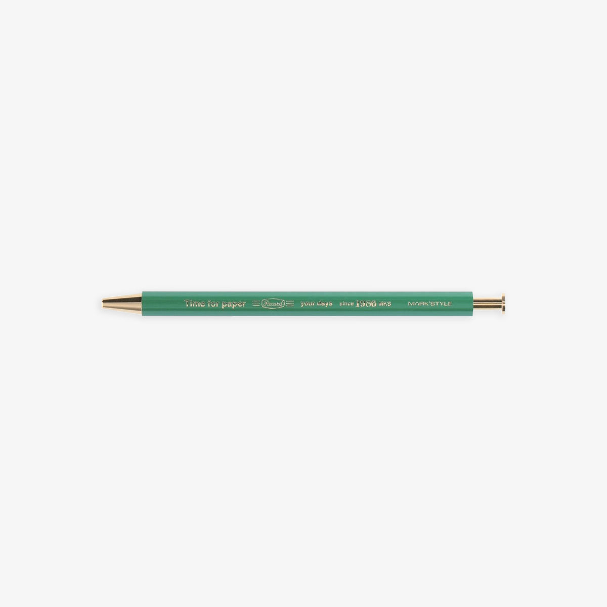 TIME FOR PAPER PENCIL BALL GEL PEN 0.5mm // GREEN