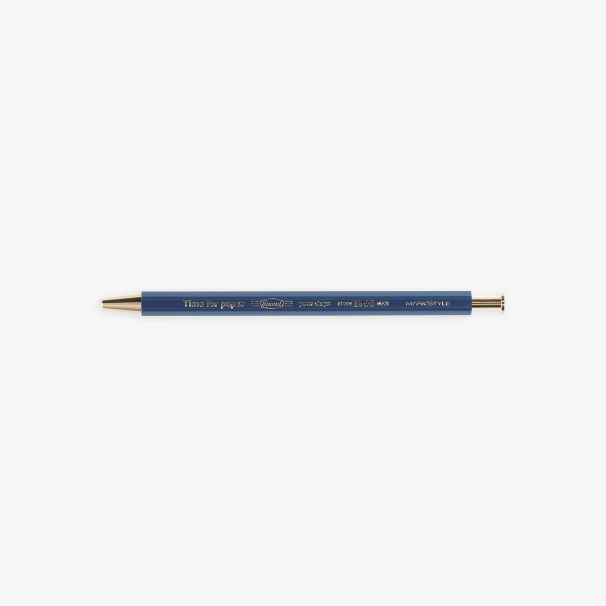 TIME FOR PAPER PENCIL BALL GEL PEN 0.5mm // NAVY