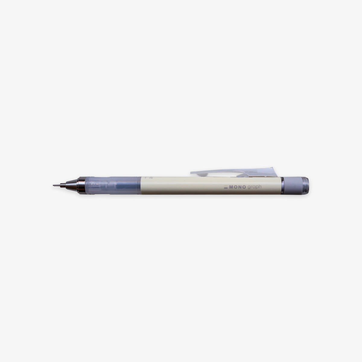 MONO GRAPH MECHANICAL PENCIL 0.5mm // WHITE
