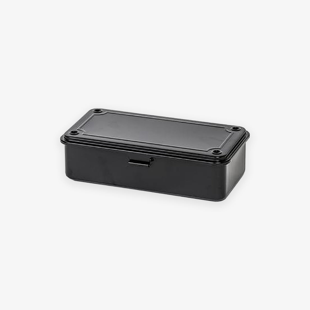 T-190 STEEL TOOL BOX // BLACK