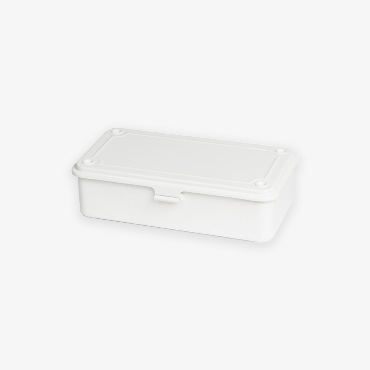 T-190 STEEL TOOL BOX // MILKY WHITE
