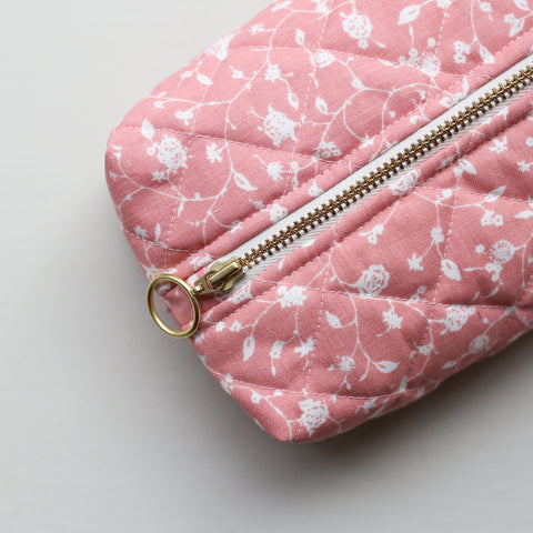MAKEUP BAG // PEACH