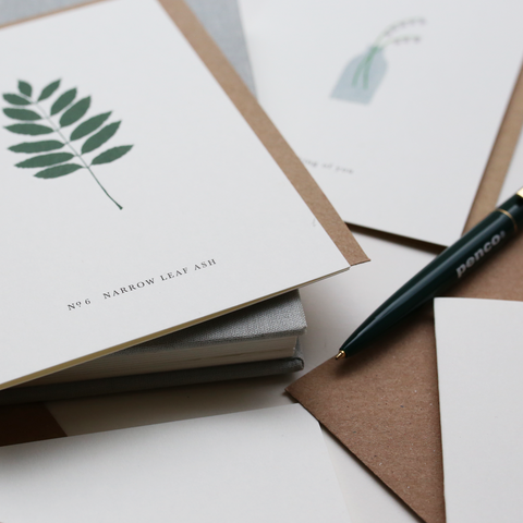 GREETING CARD SET / BOTANICAL TWO