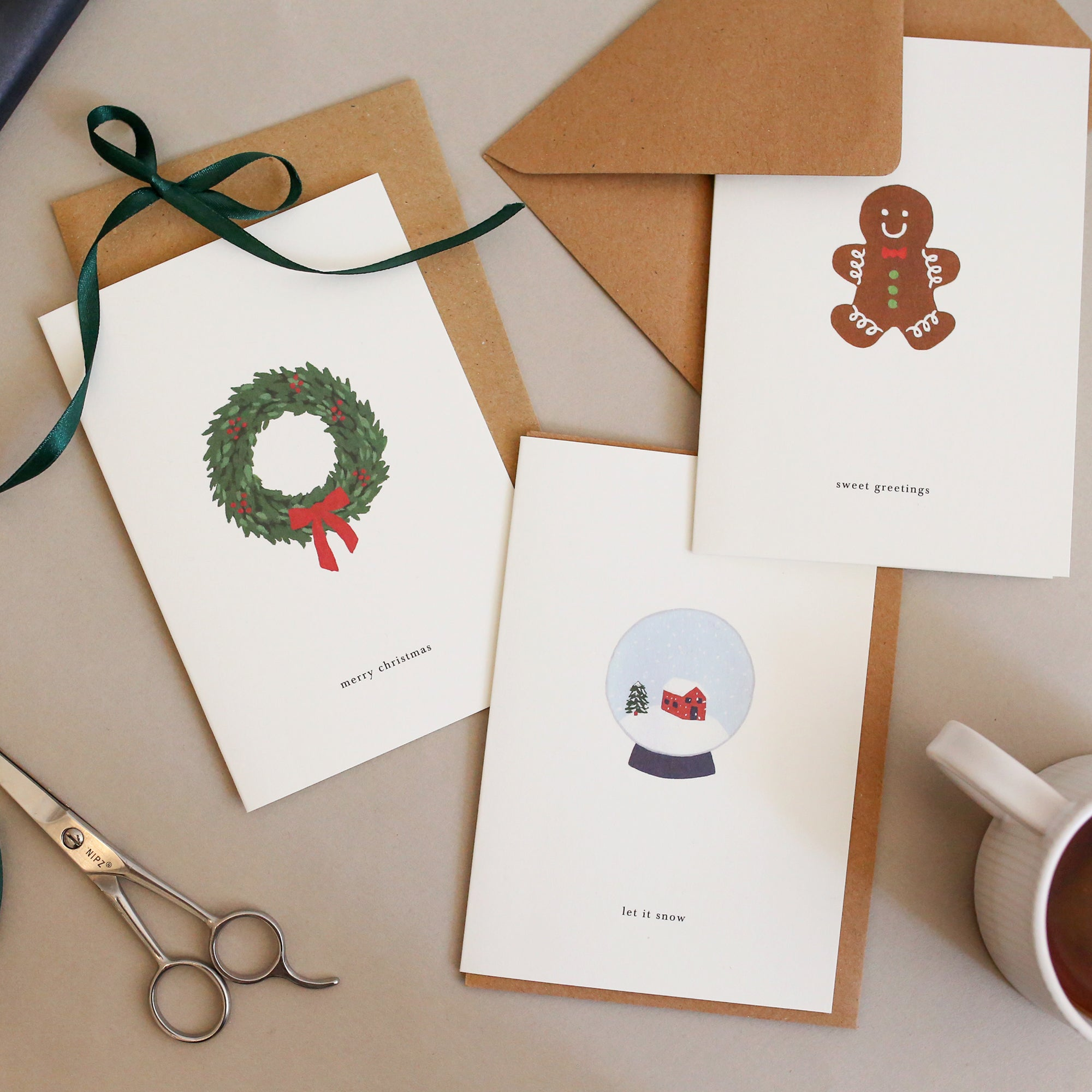 GREETING CARD SET / CHRISTMAS