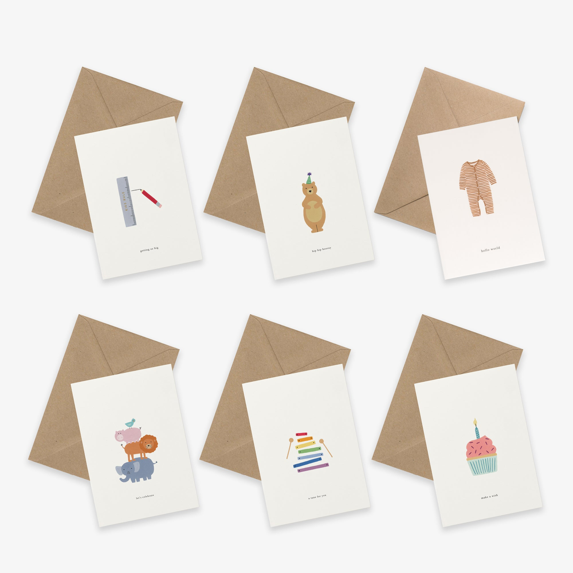 GREETING CARD SET / KIDS