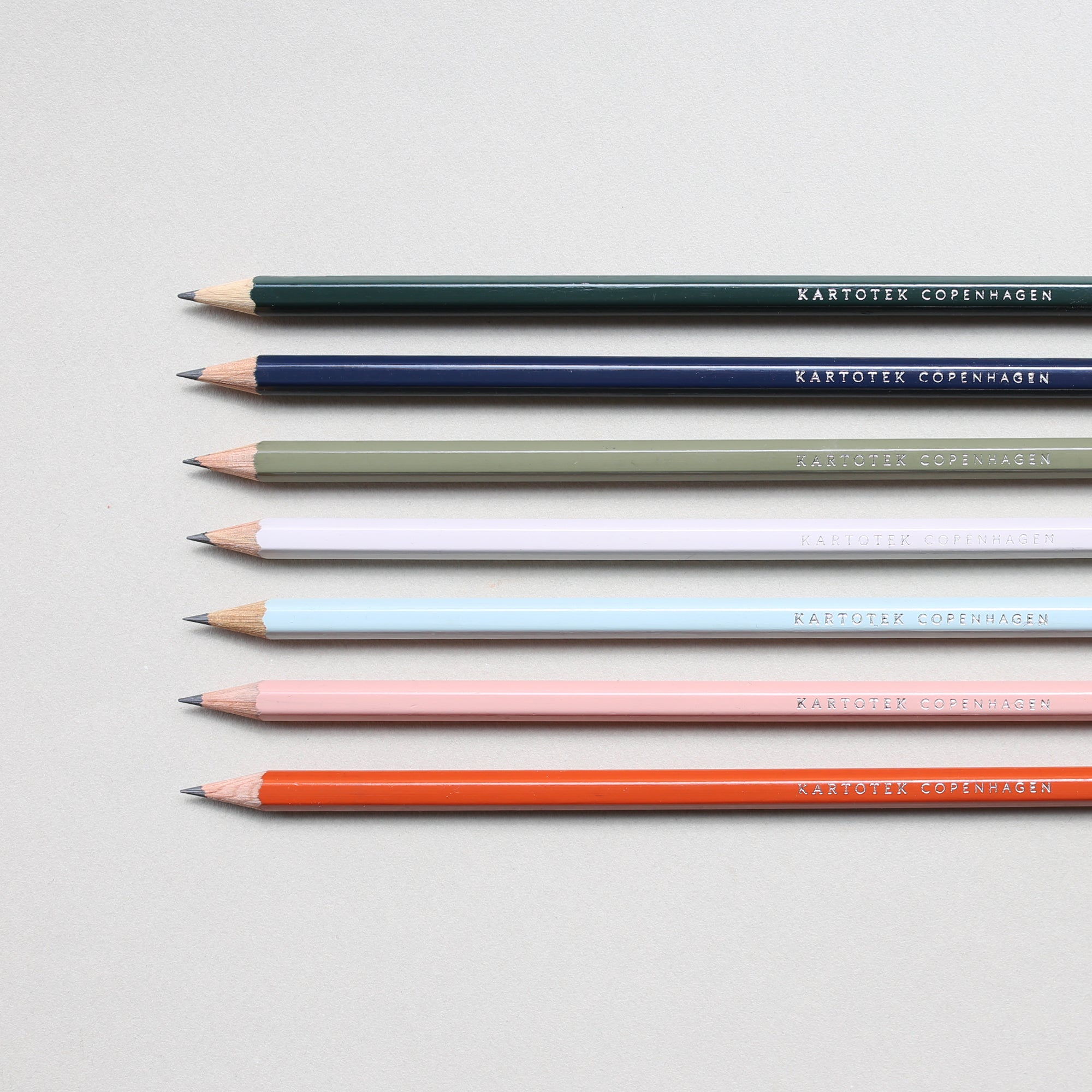 CEDAR WOOD PENCIL // TERRACOTTA