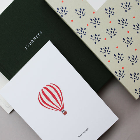 GREETING CARD // HOT AIR BALLOON