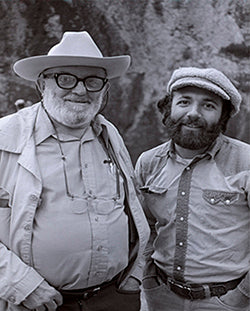Ansel Adams and Lou DeSerio