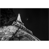 Eiffel Moonrise