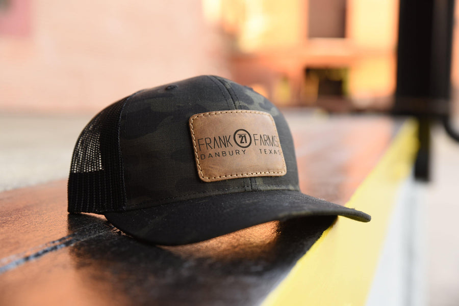 Richardson 112 Leather Patch Hat