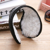 "Extra Warm Plush Ear Muffs - New ""Behind The Head"" Band Style - Winter 2017"